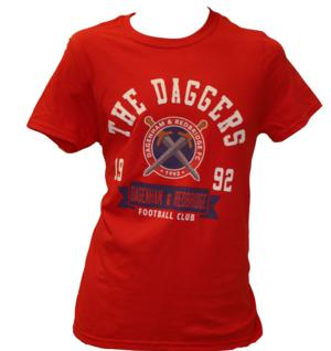 New Logo T-Shirt [Junior](Red/Blue)