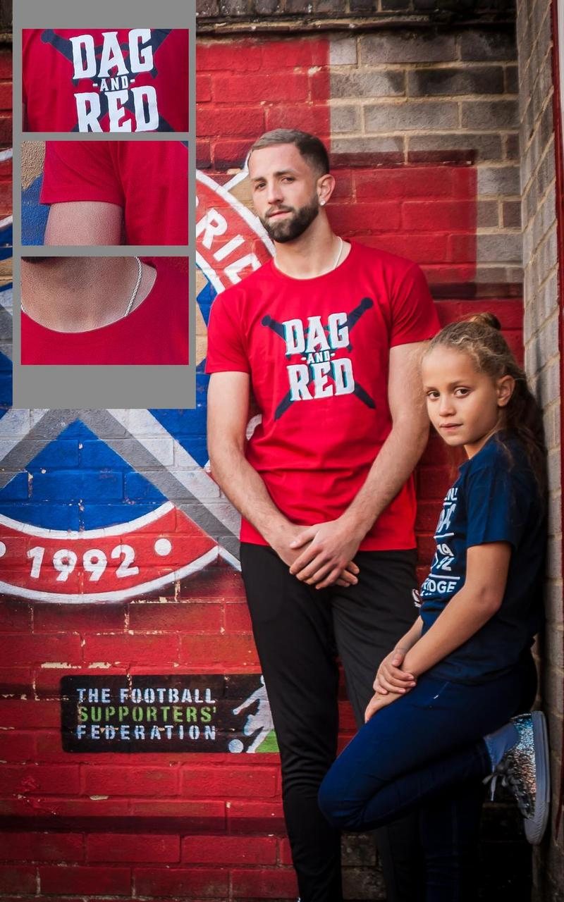 Junior DAG and RED T-Shirt