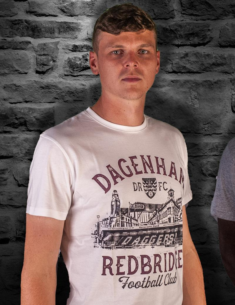 Adult 'Daggers History' White T-Shirt