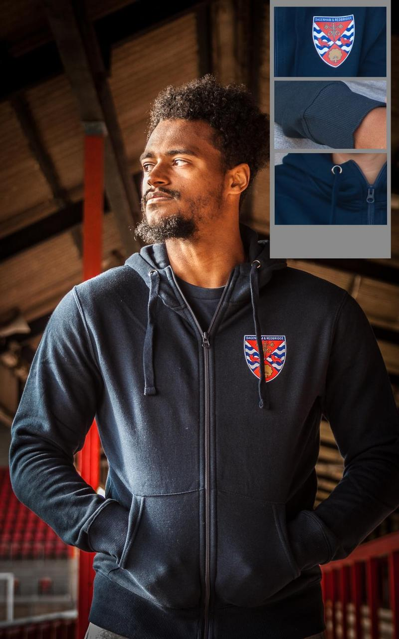 Junior Daggers Classic Badge Zip-Hoodie
